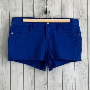Abercrombie & Fitch High Rise Cut Off Shorts